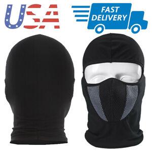 Ultra Thin UV Protect Balaclava Full Face Mask Skiing Cycling Neck Cover Sun Hat