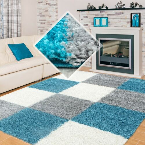 türkis Teppiche Wohnteppich Wohnzimmerteppich LIFE Teppich  in versch Größen