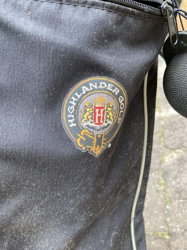 Andet golfsæt, andet materiale, Highlander bærebag