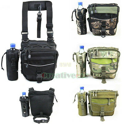 Unisex Military Tactical Travel Messenger Fanny Pack Waist Thigh Drop Leg Bag