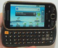 Samsung Intercept M910 Android Cell Phone Sprint Steel Gray keyboard slider -C-