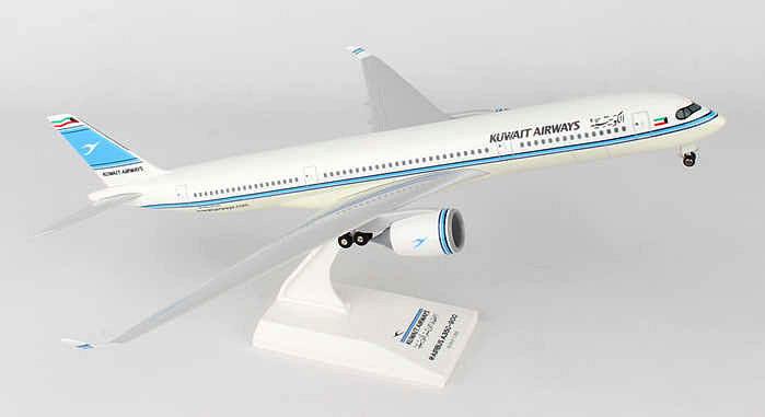 Kuwait airways  200 airbus - skymarks flugzeugmodell skr883 neu a350 neu