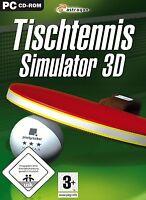 Tischtennis - Simulator 3D für Pc Neu/Ovp