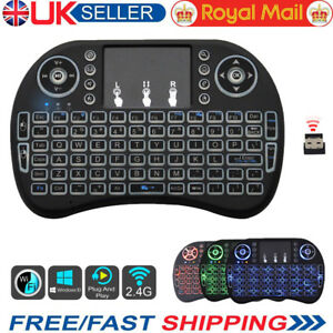 LED-Backlit-2-4G-Mini-Wireless-Keyboard-Touchpad-For-Android-TV-Box-PC-Laptop-UK
