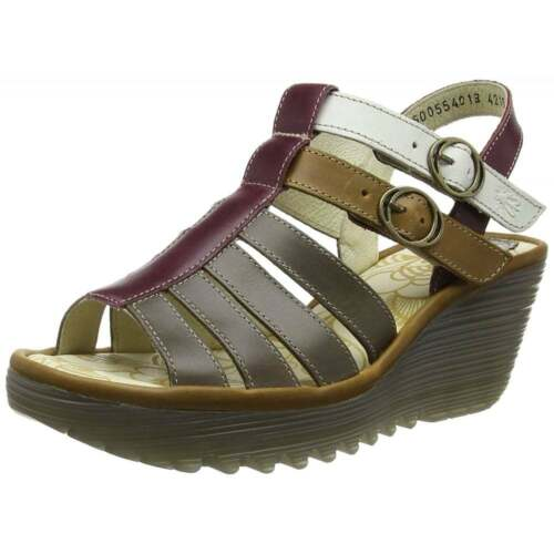 Fly London Ygor Sling Back Summer Wedge Sandal Womens New Season