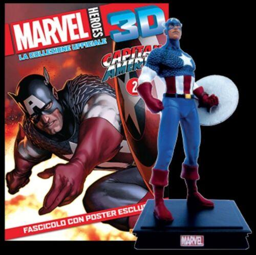MARVEL HEROES 3D CAPTAIN AMERICA Statua CENTAURIA USCITA 2