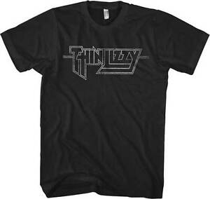 THIN-LIZZY-T-Shirt-Logo-Distressed-New-OFFICIALLY-LICENSED-S-M-L-XL-XXL
