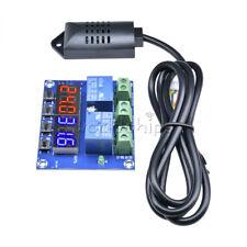 Dc 12v Dual Led Temperature Amp Humidity Control Xh M452 Thermostat Sensor Probe
