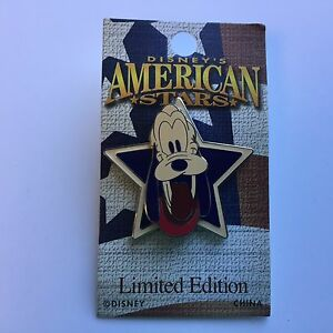 WDW-Disney-039-s-American-Stars-Pluto-Limited-Edition-2000-Disney-Pin-40198