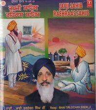 PUNJABI CD - JAPJI SAHIB - RAEHRAAS SAHIB BY BHAI TARLOCHAN SINGH JI