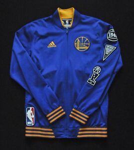 GOLDEN STATE WARRIORS Adidas Warmup NBA Jacket On-Court 15-16 Blue ...