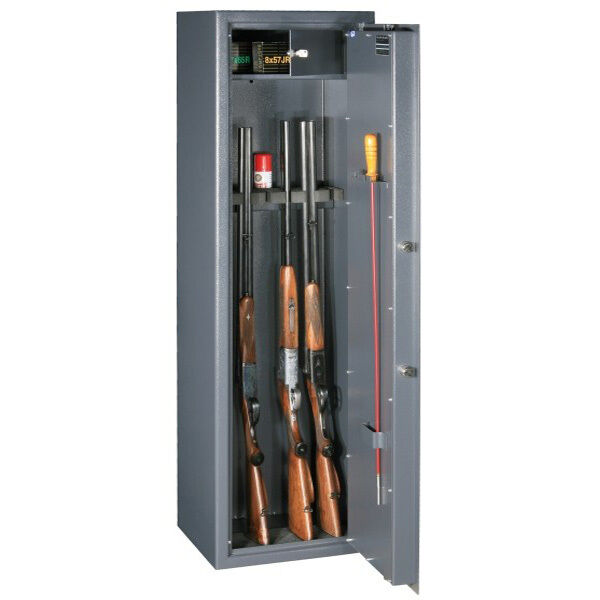 Waffentresor Stufe A VDMA 24992 für 7 Langwaffen und Muniton