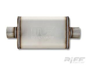 Magnaflow-11216-Universal-Schalldaempfer-Edelstahl-2-5-034-C-C-Ford-Chevrolet-Dodge