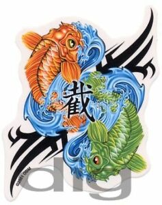 Pisces koi fish astrology yin yang symbol rare discontinued image is loading pisces koi fish astrology yin yang symbol rare sciox Gallery