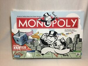 MONOPOLY-2007-Board-Game-with-Speed-Die-Parker-Brothers-NEW-SEALED