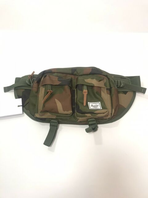 Herschel Suppy Co Eighteen Camo Crossbody Bag Fanny Waist Hip Pack