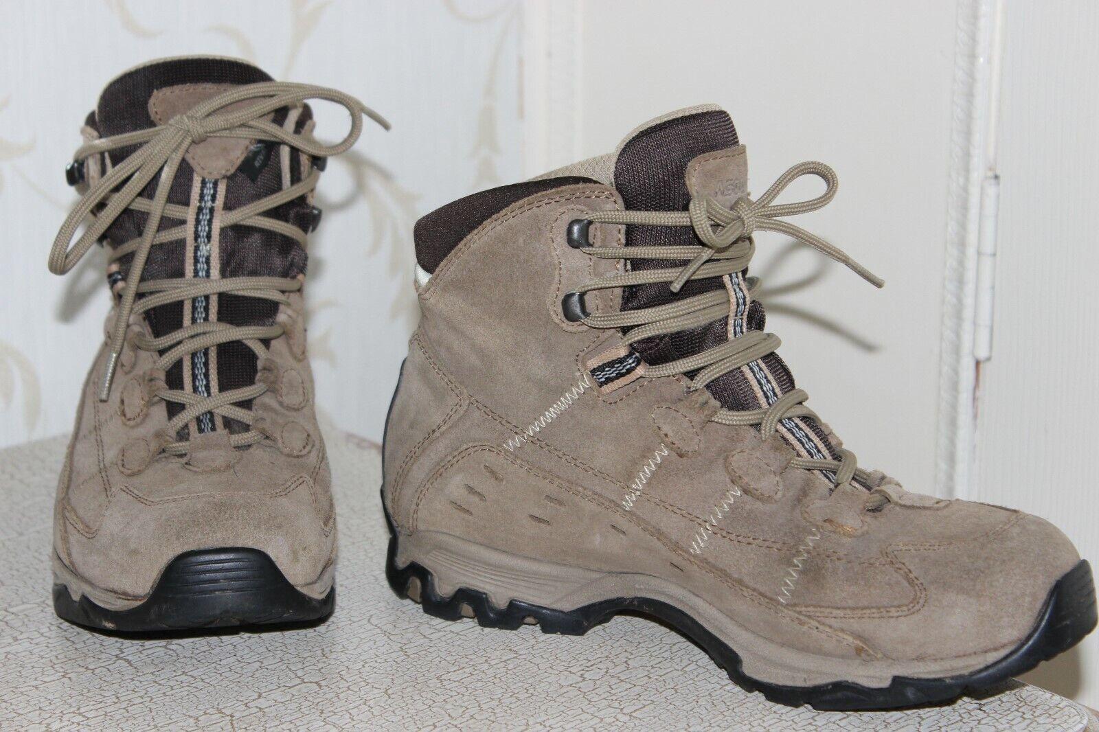 GORETEX Sandy Marronee Genuine Suede  Ladies Walking stivali Dimensione 5.5  classico senza tempo