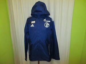 FC-Schalke-04-Original-Adidas-Spieler-Wind-Regenjacke-2012-13-034-GAZPROM-034-Gr-L
