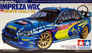 KIT-SUBARU-IMPREZA-WRC-RALLY-MONTECARLO-2005-SOLBERG-SARRAZIN-1-24-TAMIYA-24281