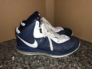 6335f63455b3 Image is loading Nike-Lebron-8-V2-Sz-14-Yankee-RARE-