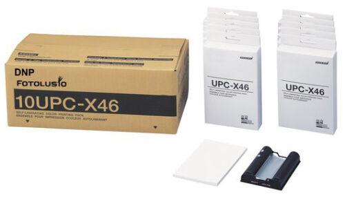 DNP ID400 C200 C300 Passport System Media 4x6 Print Kit 10UPCX46 Sony C100