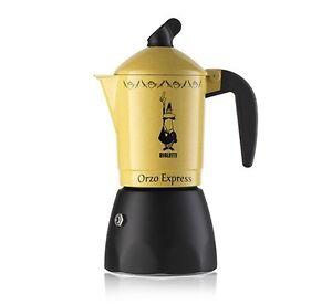 BIALETTI-ORZO-ESPRESS-ECCEZIONALE-CAFFETTIERA-per-caffe-d-039-orzo