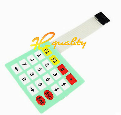 5PCS 4x5 Matrix Array 20 Key Membrane Switch Keypad Keyboard 4*5 Keys Arduino