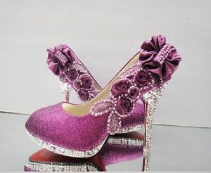 Glitter-Gorgeous-Wedding-Bridal-Evening-Party-Crystal-High-Heels-Women-Shoes