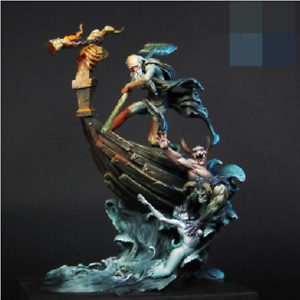1 24 Scale Charon 70mm Figure High Quality Resin Model Kit