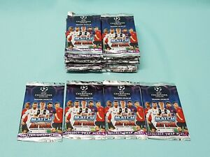 Topps-Match-Attax-Champions-League-2018-2019-50-Booster-300-Trading-Cards-18-19