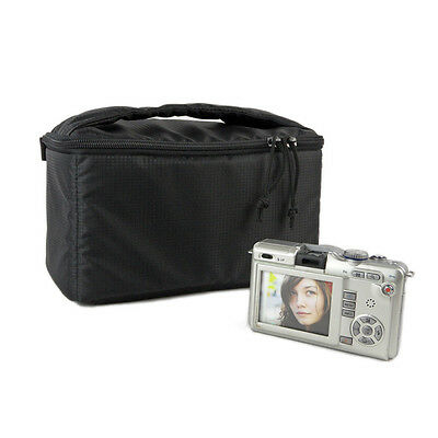New Waterproof DSLR SLR Camera Insert Padded Partition Camera Bag With Handle