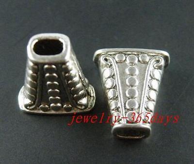 12pcs Tibetan Silver/Gold Color Craft DIY Bead Caps 19x17mm 1281