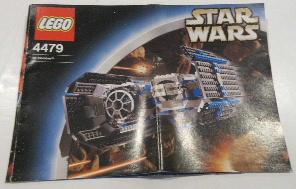 LEGO 4479 STAR WARS TIE Bomber - Used, NO BOX