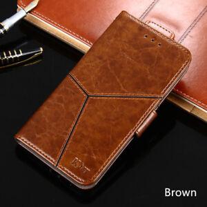 Luxury Premium Vintage Leather Flip Case Wallet Case Cover For BlackBerry Key2