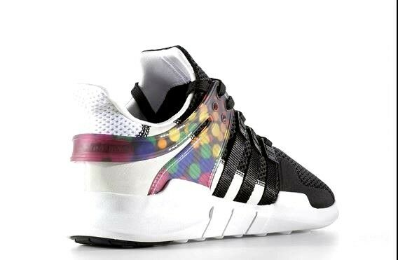 Adidas Adidas Adidas EQT Support Advanced Pride Pack CM7800 Black   White Men's Size 6 NIB 7a9471