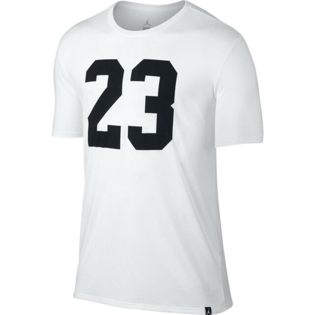 44643a295a47e0 Jordan 23 Logo White Graphic Tee T Shirt Mens X Large for sale ...