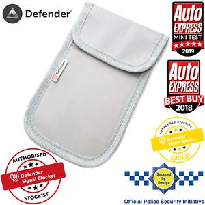 Genuine-Defender-Signal-Blocker-Car-key-Fob-Signal-Jamming-pouch-UK-Stock-Grey