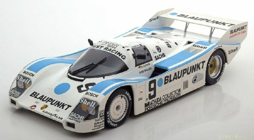 Porsche 962 C  9 Dnf 1000 Km Nurburgring 1987 K. Ludwig / B. Wollek 1:18 Model