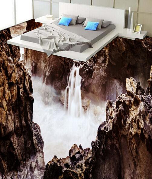 3D Landscape View 533 Floor WallPaper Murals Wallpaper Mural Print AJ AU Lemon