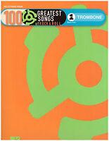 100 Rock & Roll Songs Sheet Music For Trombone Beatles, Elvis, Van Morrison