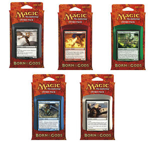 5-x-Intro-Pack-Complete-Set-Born-of-the-Gods-MTG-Each-contains-2-boosters