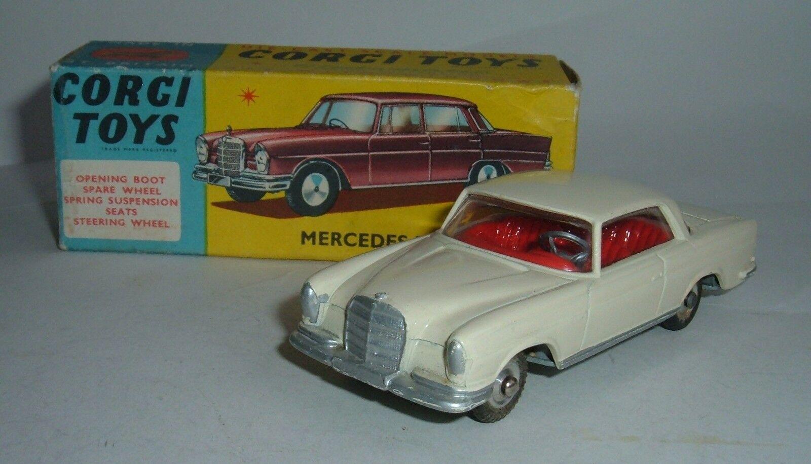 Corgi Toys No. 230, Mercedes-Benz 220SE - Superb Near Mint.