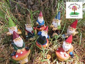 12cm Miniature Gnome Figurines Fairies Garden Decor Terrarium Stakes Ebay