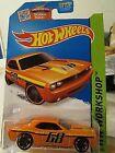 2015 Hot Wheels Intl City Works Street Cleaver #10 Orange Or6sp Diecast Car