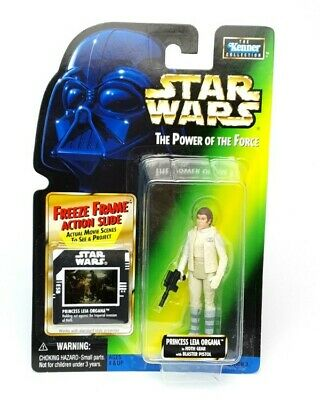 STAR WARS THE POWER OF THE FORCE POTF FIGURES FREEZE FRAME COMMTECH JEDI FILES