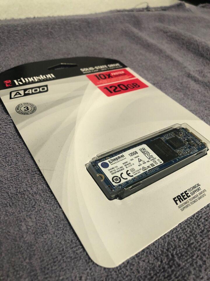 Kingston M.2 SSD, 120 GB, Perfekt