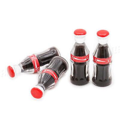 1//12 Miniatur 4 Stück Coke Puppenhaus Küche Zubehör