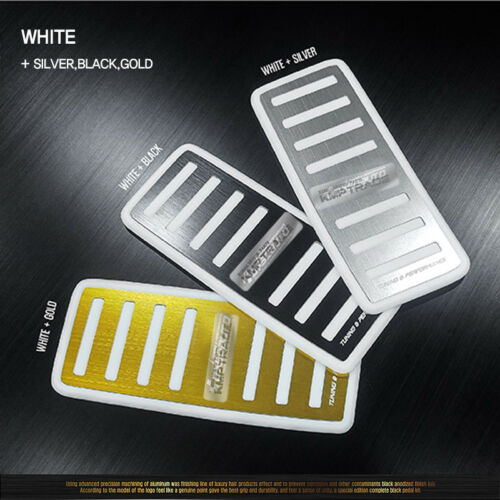 HairLine Aluminum Anodizing Footrest Plate 3Colors For KIA 2014 2017 2018 Soul
