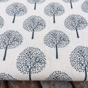 Grey Trees LINEN  Cotton Fabric Price per 14 meter - Leominster, Herefordshire, United Kingdom - Grey Trees LINEN  Cotton Fabric Price per 14 meter - Leominster, Herefordshire, United Kingdom