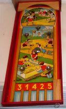alter Flipper TIVOLISPIEL 50er Jahre Pinball Holzflipper Glockenspiel OVP TOP!!